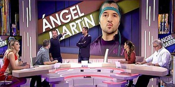 Ángel Martín visita Zapeando, el que fue su plató en 'Sé lo que hicísteis'
