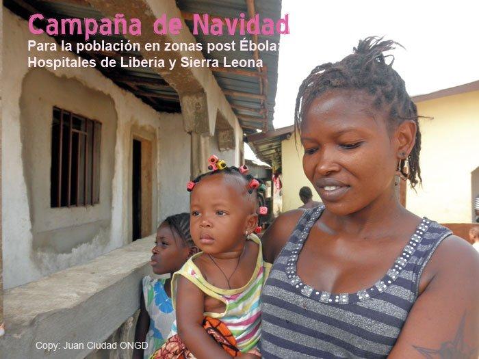 Campaña de Navidad post Ébola