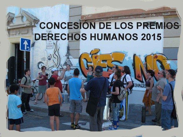 """San Carlos Borromeo, premio """"Derechos Humanos 2015"""""""