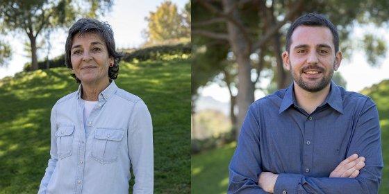 Amparo Botejara y Pablo Rodríguez, candidatos de Podemos Extremadura al Congreso de los Diputados