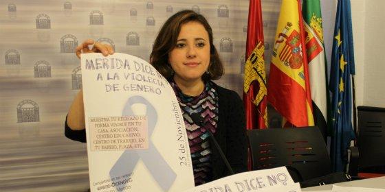 Mérida dice no a la violencia de género