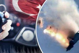 ¡Cruce en el aire! El audio de aviso al avión Su-24 y la 'vídeo-réplica' rusa