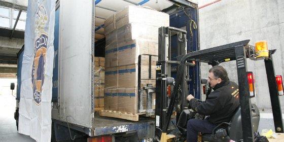 España envía ayuda humanitaria a Eslovenia y Croacia para acoger al gran número de refugiados llegados a su territorio