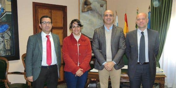 El Ayuntamiento de Zafra firma un convenio con Ibercaja para actos culturales