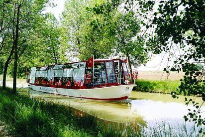 El Canal de Castilla en Medina de Rioseco, un viaje fluvial sorprendente por la Meseta Castellana