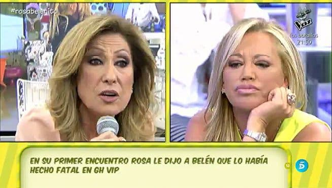 ¡Que tiemble Belén Esteban!:Rosa Benito ya negocia su lucrativo regreso para 'ajustar cuentas'