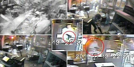 La mujer se salva de milagro al encasquillarse el AK47 del yihadista en una pizzería