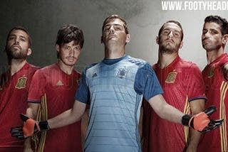 Este es el diseño final de la camiseta de España para la Eurocopa