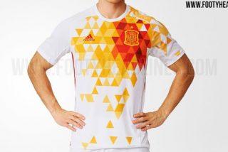 Esta es la segunda camiseta de la Selección Española