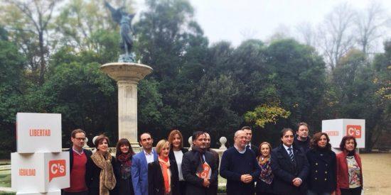 Ciudadanos (C's) presenta su candidatura al Congreso y Senado de Valladolid