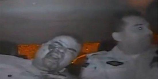 Así le pegan un tiro en la cara a un rollizo y risueño policía en Brasil