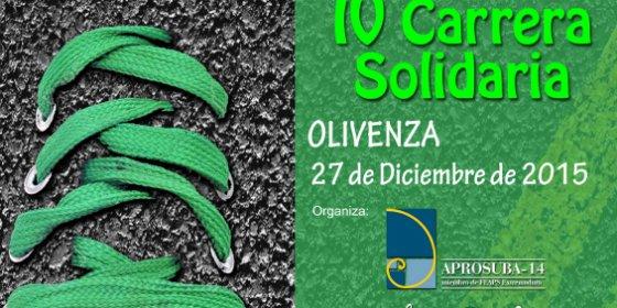 Olivenza acogerá la IV Carrera Solidaria de Aprosuba-14