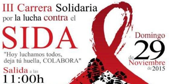 La III Carrera Solidaria por la lucha contra el Sida espera reunir en Cáceres a más de 500 participantes