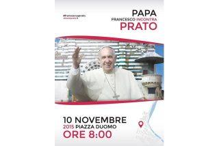 El Papa visita Prato y Florencia