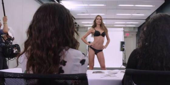 El casting al desnudo para ser un ángel de Victoria's Secret