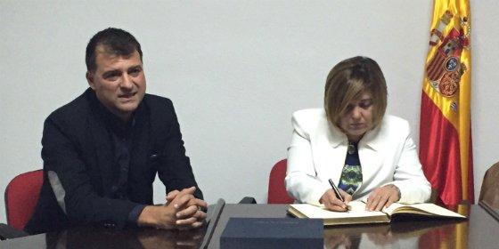 Diputación crea una nueva plaza en la antigua piscina de Aceituna (Cáceres)
