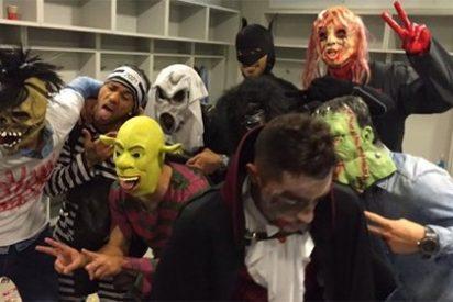 Lo del numerito de Halloween de los jugadores del Barça avergüenza hasta a la prensa culé