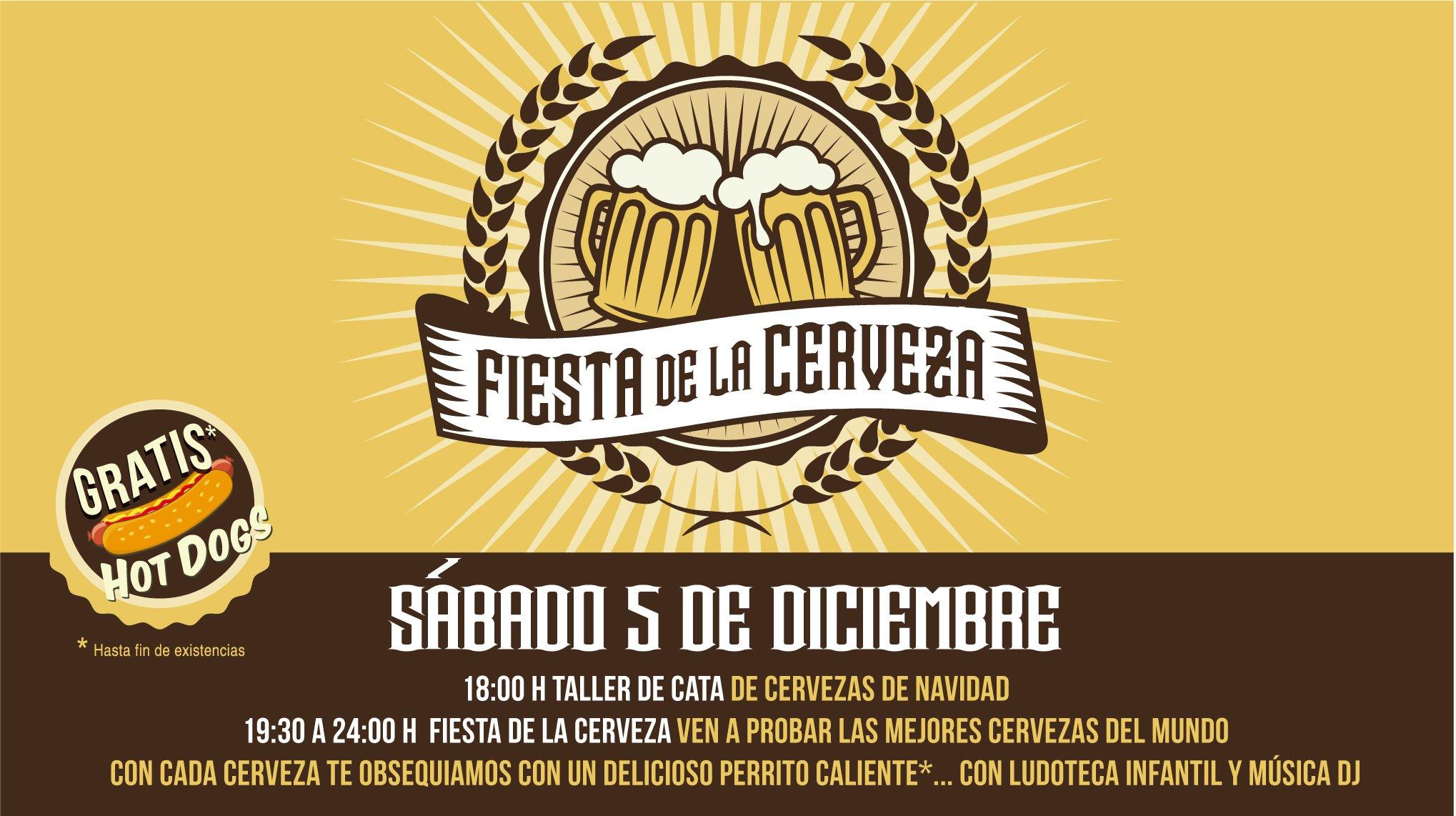 El III Bierfest de Sexta Avenida abre sus puertas con una Cata de Cervezas de Navidad