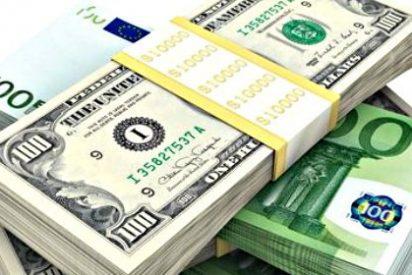 El euro cae a mínimos de abril frente al dólar tras el dato de empleo en EEUU que acerca la subida de tipos