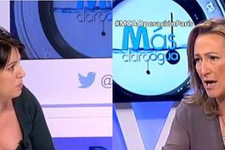 "Isabel Durán expulsa en directo a Beatriz Talegón: ""Aquí no vuelves a dar el mitin"""