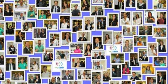 Los empleados de El Corte Inglés se unen en el Día Mundial contra la Violencia de Género