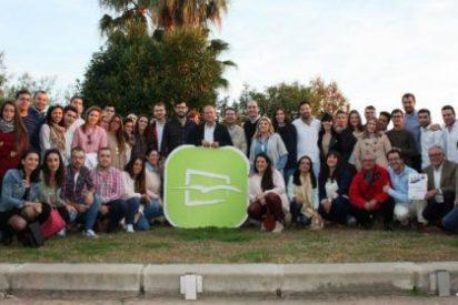 Monago destaca el papel protagonista de los jóvenes en el Partido Popular