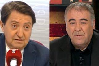 """El ataque de Losantos contra laSexta: """"Ferreras, el jefe de campaña de Iglesias, dirige la cadena del golpe de Estado catalán"""""""