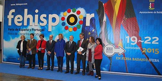 Inaugurada en Badajoz la XXVI Fehispor que se consolida como una de las principales ferias hispanolusas de la península