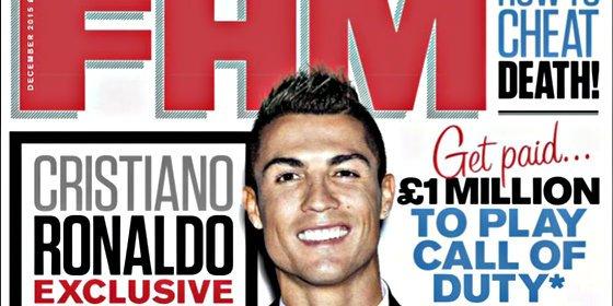 """Cristiano Ronaldo en FHM: """"No le cierro la puerta a ninguna Liga..."""""""