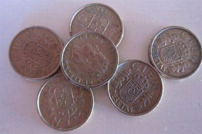 Los españoles conservan en su poder 1.654 millones de euros en pesetas