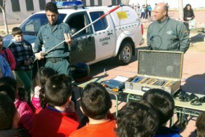 La Guardia Civil de la provincia de Badajoz inicia la campaña anual de visitas a centros docentes