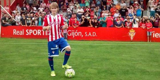 El Barcelona amenaza la continuidad de Halilovic en el Sporting