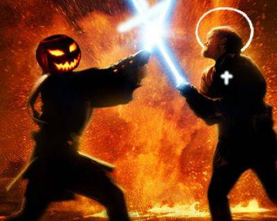 Halloween frente a Todos los Santos