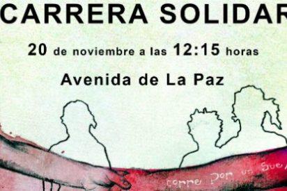 """IV Carrera Solidaria """"Corro por un sueño"""" 2015 en Almendralejo"""