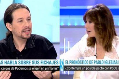 """Pablo Iglesias se viene arriba y se ve presidente pero Ana Rosa le baja los humos: """"Ahora en serio…"""""""
