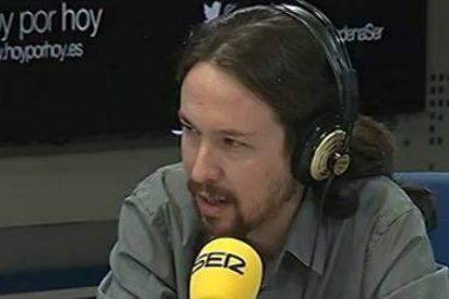 """Javier Gállego se burla de Pablo Iglesias: """"Le pasará como a Solana, que dijo OTAN de entrada no y luego la dirigió"""""""