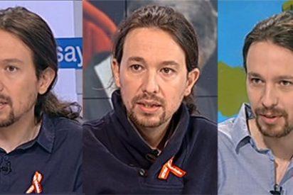Pablo Iglesias ya no se queja de TVE y la convierte en otra cadena de cabecera