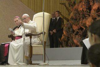 """Francisco, a los educadores católicos: """"No se puede hablar de educación católica, sin hablar de humanidad"""""""