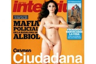 Ciudadanos se desnuda en campaña: Carmen López en Interviú