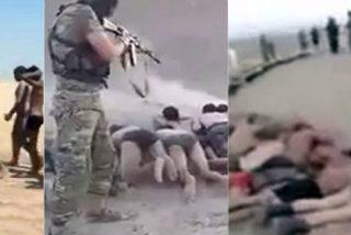 [Vídeo] ¡Así ejecutan a 200 niños sirios las inmundas bestias del Daesh!