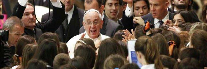 """El Papa, a los ex alumnos jesuitas: """"¿Tenés el virus adentro o no, o ya lo perdiste?"""""""