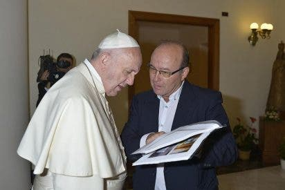 """José Manuel Vidal: """"Francisco está harto de que la limpieza en la Iglesia no vaya al ritmo que él quiere"""""""