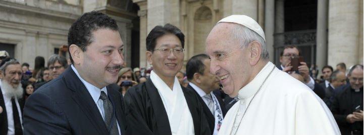 El Papa apoya al KAICIID en su esfuerzo por fomentar el diálogo interreligioso