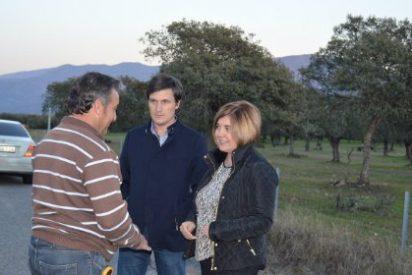 La Diputaciónde Cáceres aborda un primer arreglo de la carretera Villar-Oliva de Plasencia