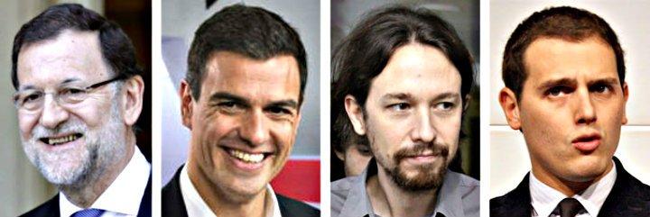 El Partido Ciudadanos supera al PSOE y echa el aliento en la nuca al PP mientras Podemos rebota un poco
