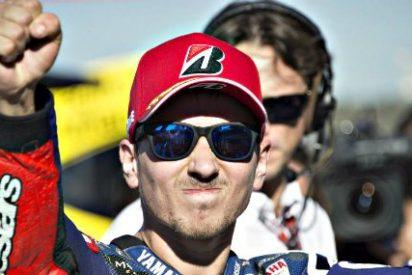 Jorge Lorenzo, campeón del mundo de Moto GP