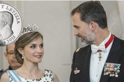 Felipe VI y Letizia ya tienen su primera moneda como Reyes