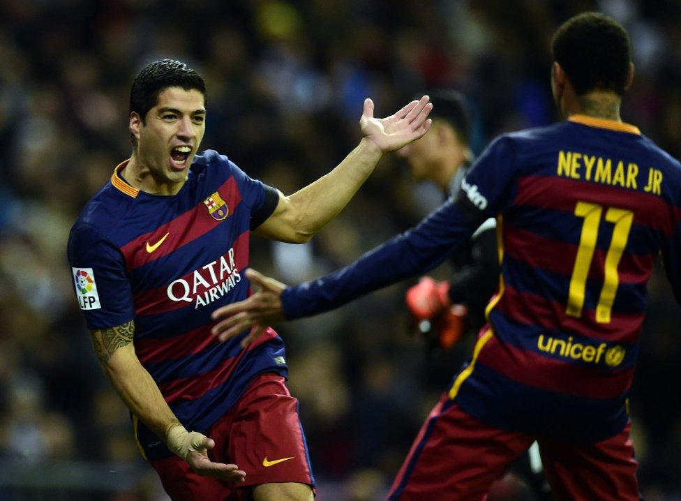 Neymar y Luis Suárez se desmarcan en el Pichichi