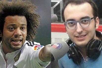 """Marcelo acribilla a un periodista de Marca por pasarse de listo: """"Tú eres tonto"""""""