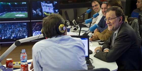 """Mariano Rajoy: """"Por la izquierda, es mucho más peligroso Bale que Pablo Iglesias"""""""